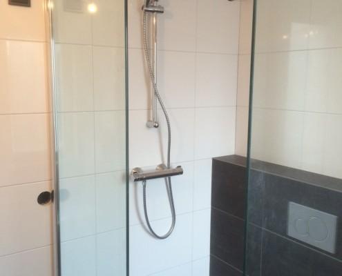 Montage badkamer douche
