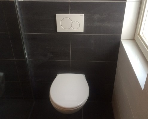 Montage badkamer WC