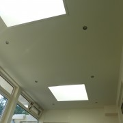 Plafond aanbouw